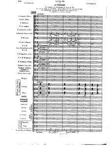 Opera: Act III, tableau I (early version) by Jules Massenet
