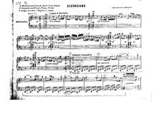 Elevazione in D Minor for Piano: Elevazione in D Minor for Piano by Felice Moretti