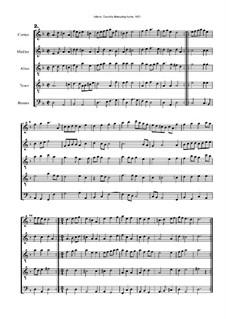 Courtly Masquing Ayres, No.2: Courtly Masquing Ayres, No.2 by John Adson