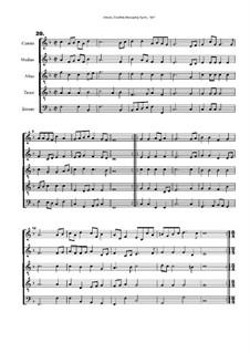 Courtly Masquing Ayres, No.20: Courtly Masquing Ayres, No.20 by John Adson