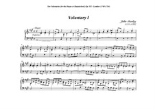 Ten Voluntaries for Organ (or Harpsichord), Op.7: Voluntary No.1 in A Major by John Stanley