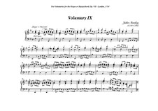 Ten Voluntaries for Organ (or Harpsichord), Op.7: Voluntary No.9 in G Major by John Stanley