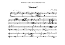 Ten Voluntaries for Organ (or Harpsichord), Op.7: Voluntary No.10 in F Major by John Stanley