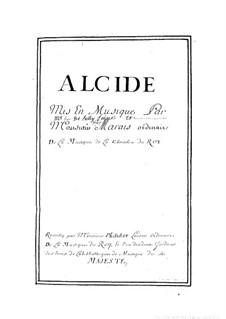 Alcide: Alcide by Marin Marais