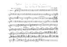 Là ci darem la mano: Violin I part by Wolfgang Amadeus Mozart