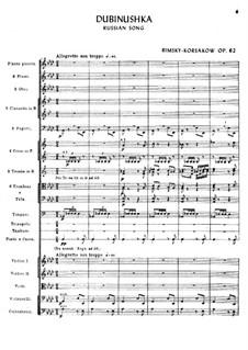 The Little Oak Stick, Op.62: The Little Oak Stick by Nikolai Rimsky-Korsakov