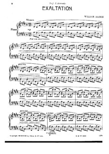 Three Concert Etudes for Piano: Three Concert Etudes for Piano by William Baines