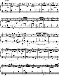 Sonatina in G Major: Presto by Matthew Camidge