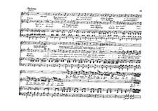 La donna del lago (The Lady of the Lake): Act I, duet 'Quali accenti! Quai tormenti', for voices and piano by Gioacchino Rossini