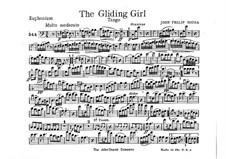 The Gliding Girl. Tango: Euphonium part by John Philip Sousa