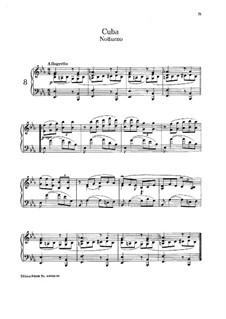 No.8 Cuba: For piano by Isaac Albéniz