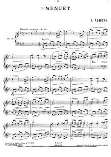 Minuet in G Minor: Minuet in G Minor by Isaac Albéniz