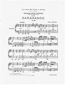 Ancient Suite No.2, Op.64: Ancient Suite No.2 by Isaac Albéniz
