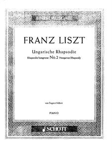 No.2 in C Sharp Minor, S.244: Cadenza by Franz Liszt
