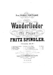 Wanderlieder, Op.100: Nr.6 Schalmeien by Fritz Spindler