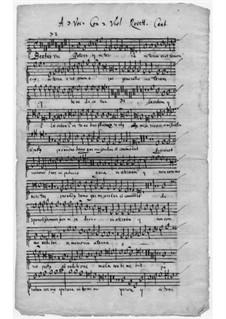Beatus vir: Beatus vir by Giovanni Rovetta