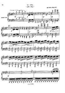 Grand Sonata 'Les quatre âges' (The Four Ages), Op.33: Movement II 'Quasi-Faust' by Charles-Valentin Alkan