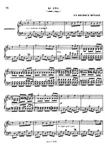 Grand Sonata 'Les quatre âges' (The Four Ages), Op.33: Movement III 'Un heureux ménage' (A Happy Household) by Charles-Valentin Alkan