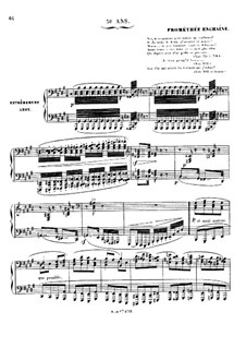 Grand Sonata 'Les quatre âges' (The Four Ages), Op.33: Movement IV 'Prométhée enchaîné' (Prometheus Bound) by Charles-Valentin Alkan