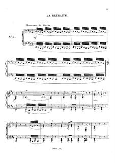 Les mois (The Months), Op.74: No.3 La retraite by Charles-Valentin Alkan