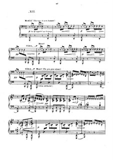 No.12 Minstrels: For piano by Claude Debussy