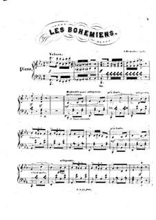 Les Bohemiens, Op.57: Les Bohemiens by Jacques Blumenthal