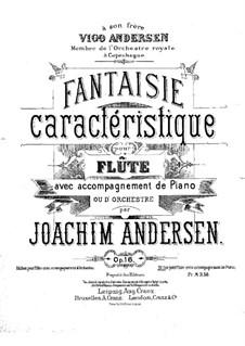 Fantasia, Op.16: Score by Joachim Andersen
