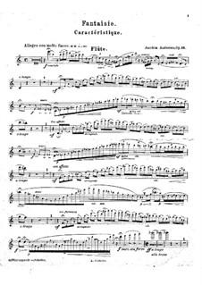 Fantasia, Op.16: Solo part by Joachim Andersen