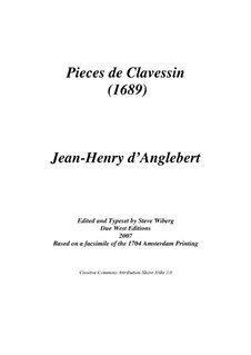 Selected Pieces: Selected Pieces by Jean-Henri d'Anglebert