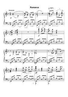 Five Pieces for Piano, Op.5 No.2: No.1 Romance by Konstantin Antipov