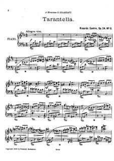 Tarantella, Op.24 No.11: Tarantella by Ricardo Castro