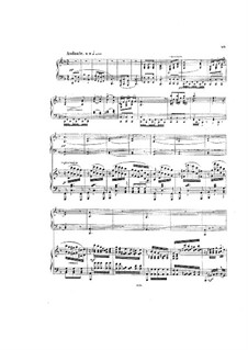 Piano Concerto No.2, Op.24: Movements II-III, for two pianos four hands by Ignaz Brüll