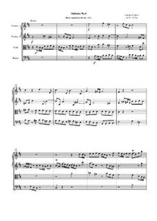 Symphony No.4: Movement I by Antonio Caldara