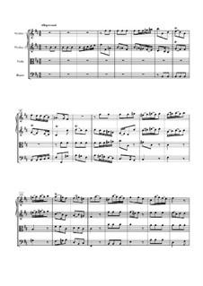 Symphony No.4: Movement III by Antonio Caldara