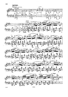 Fragments: Movement III. Version for piano by Frédéric Chopin
