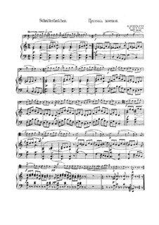 No.18 Schnitterliedchen (The Reaper's Song): For bassoon and piano by Robert Schumann