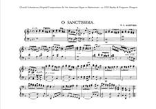O Sanctissima: O Sanctissima by Emma Louise Ashford
