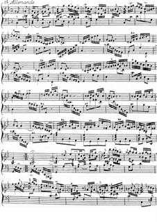 Allemande in C Minor: Allemande in C Minor by Jacques Duphly