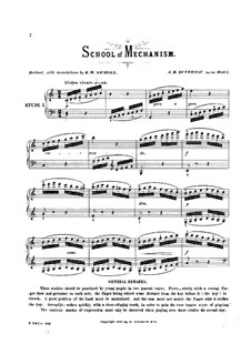 School of Mechanism, Op.120: No.1-5 by Jean-Baptiste Duvernoy