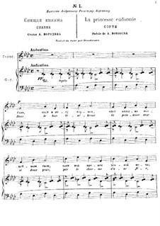 Romances : Complete set by Alexander Borodin