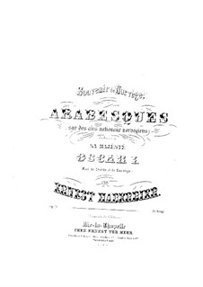 Souvenir de Norvège, Op.24: Souvenir de Norvège by Ernst Haberbier