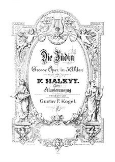 La Jiuve (The Jewess): For soloists, choir and piano by Fromental Halevy