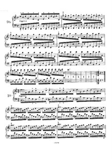 Fifty-One Exercises for Piano, WoO 6: Exercises No.9b-17 by Johannes Brahms