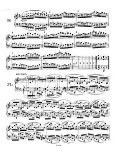 Fifty-One Exercises for Piano, WoO 6: Exercises No.36-41 by Johannes Brahms
