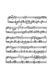 Etude for Piano: Etude for Piano by Antonín Dvořák
