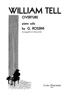 Overture: For piano by Gioacchino Rossini