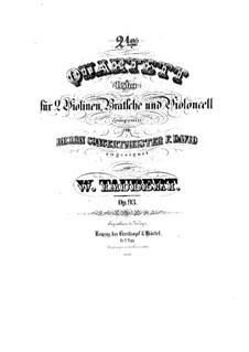 String Quartet No.2 in B Flat Major, Op.93: String Quartet No.2 in B Flat Major by Wilhelm Taubert