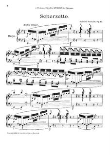 Scherzetto, Op.87: Scherzetto by Gabriel Verdalle