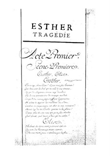 Esther: Act I by Jean-Baptiste Moreau