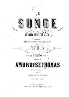Le songe d'une nuit d'été: Le songe d'une nuit d'été by Ambroise Thomas